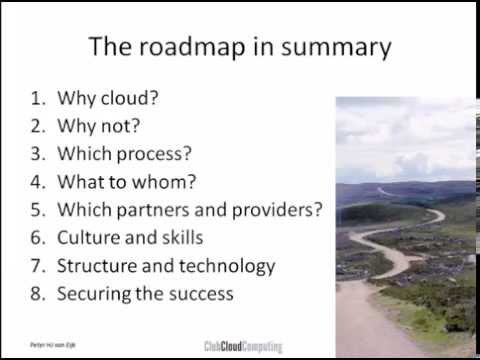Cloud roadmap for banks