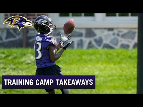 Top Takeaways From Ravens Training Camp  028a7665d
