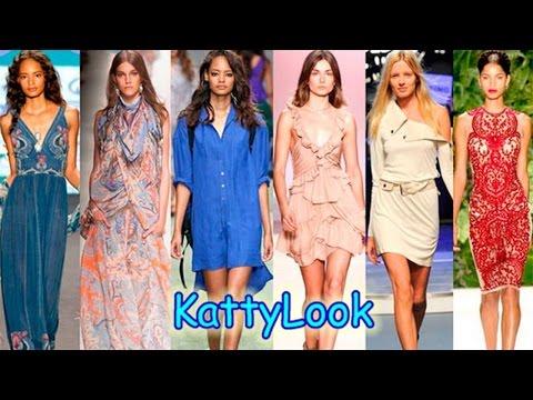 Модные платья и сарафаны лета 2015