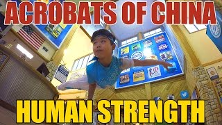 Acrobats of China featuring New Shanghai Circus - Human Strength Video