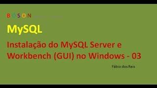 MySQL - Instalação no Windows 7 - 03