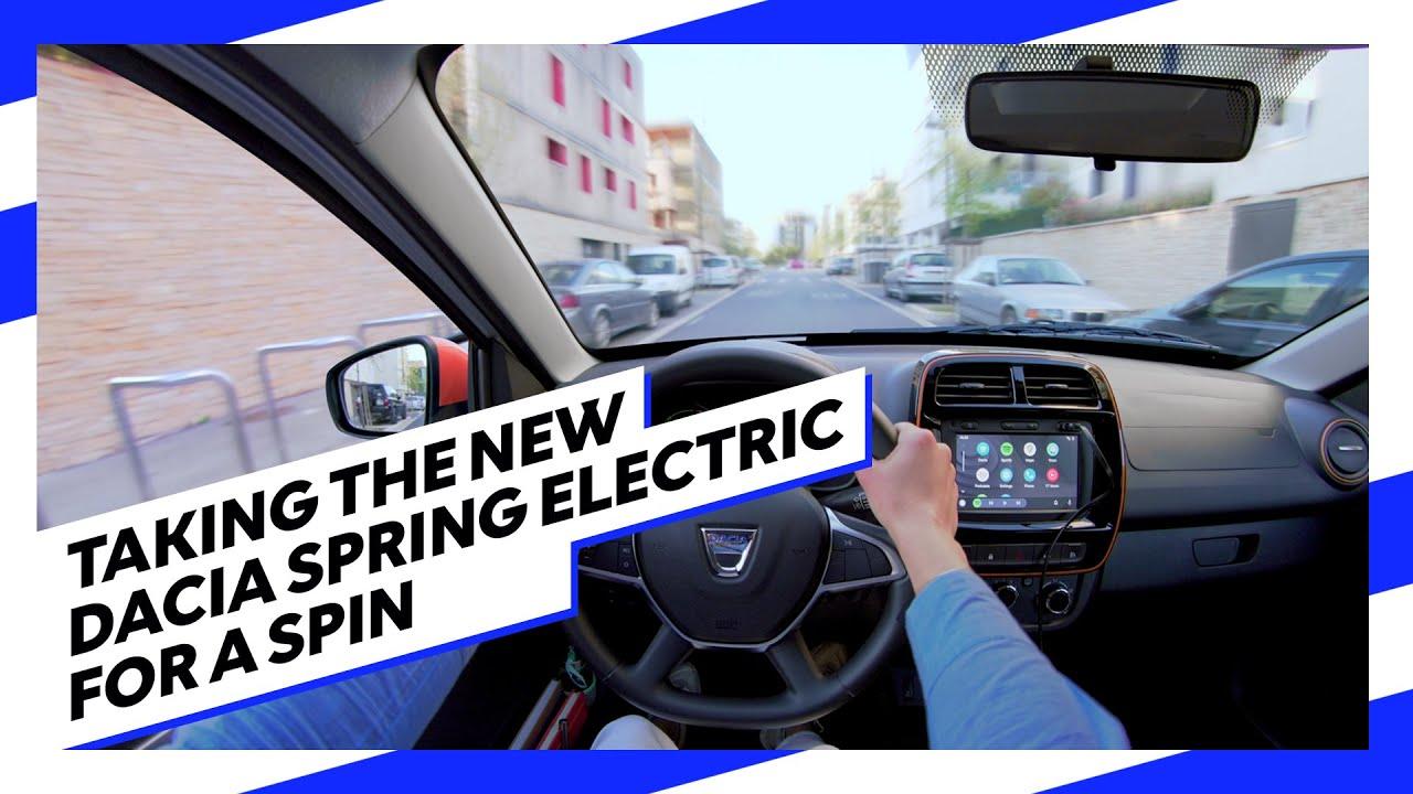 Dacia Spring - Testdrive live