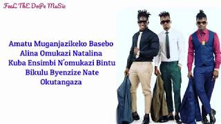 B2C   Tebigatika (Lyrics) HD