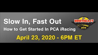 PCA NER Sim Racing Panel Discussion