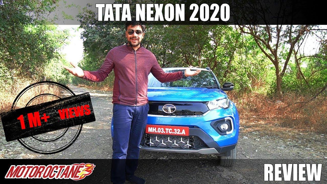 Motoroctane Youtube Video - 2020 Tata Nexon BS6 Review   Hindi   MotorOctane