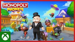 Xbox MONOPOLY Madness: Official Announce Trailer  anuncio