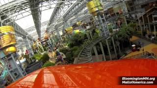 Inside the Mall of America - Shopping, Attractions and the Nickelodeon Universe