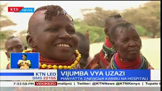 Wakaazi wa Turkana wajenga Manyatta kama vijumba vya uzazi karibu na hospitali
