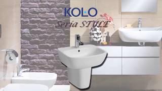 Умывальник Kolo Style 37 настенный угловой видео