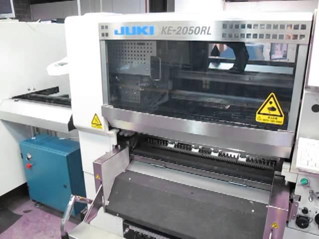 Alpha Electronics - Complete SMT Line - 2007 Ekra X5 - Juki KE-2050RL - Juki KE-2060RL