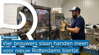 Ondanks dichte horeca verschijnt er een nieuw Rotterdams biertje, dit keer gemaakt door vier loka...