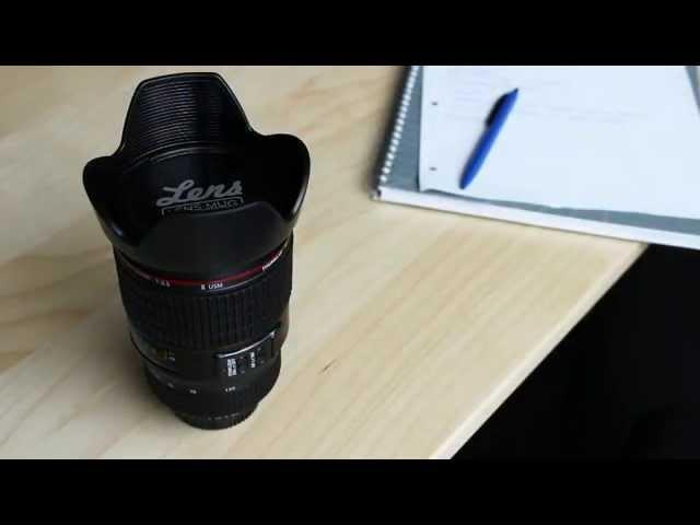 Kaffeebecher - Kamera Objektiv