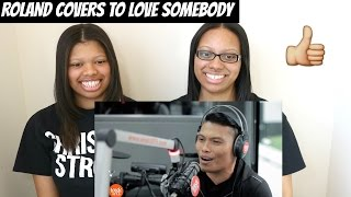 Roland 'Bunot' Abante - To Love Somebody (Michael Bolton) LIVE On The Wish Bus | Reaction
