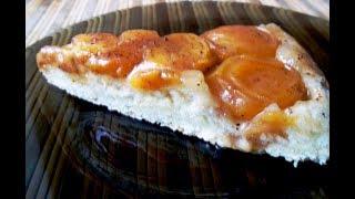 Тарт Татен с абрикосами. Пирог-перевертыш.