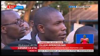 Breaking News: KMPDU Secretary General-Dr. Ouma Oluga finally free