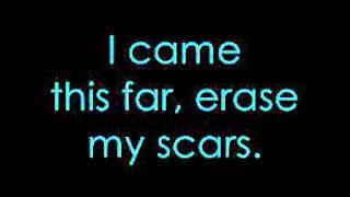 Erase My Scars - Evans Blue Lyrics!!