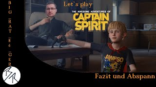 The Awesome Adventures of Captain Spirit [PS4] Fazit und Abspann