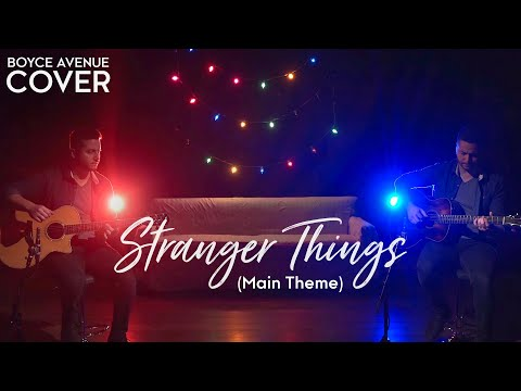 Stranger Things Main Theme [Acoustic Cover]