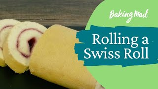 How to roll a swiss roll