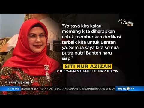 Putri Ma'ruf Amin Siap Maju di Pilkada Tangsel