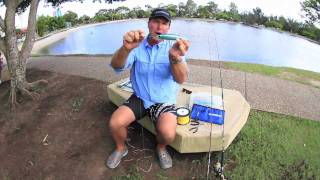 How to attach line to a lure with a uni-knot - SHIMANO FISHING