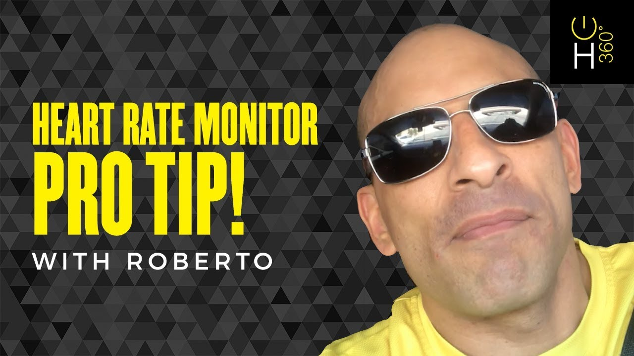 Heart Rate Monitor Pro Tip with Roberto