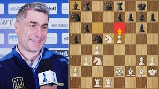 Ivanchuk: My Opponent Played Weird Moves | #gibchess | Round 5