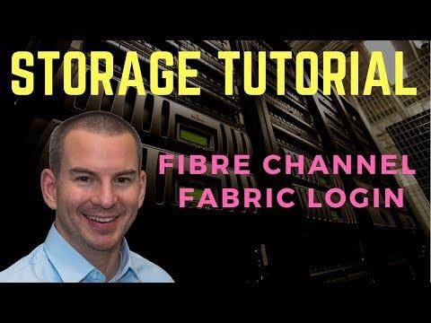 Fibre Channel SAN Tutorial Part 3 - Fabric Login (new version)