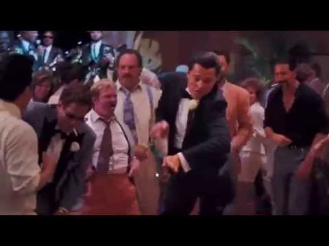 Leonardo dicaprio dancin