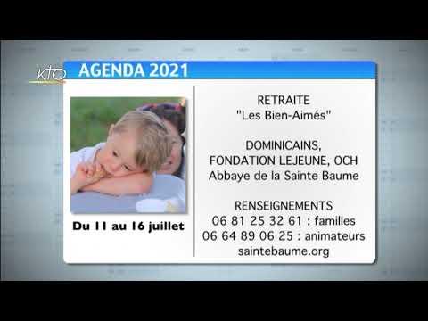 Agenda du 25 juin 2021