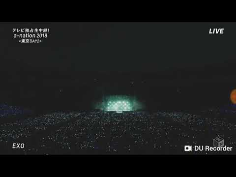 "EXO ""WHAT U DO"" LIVE @AN NATION 26082018 IN JAPAN"