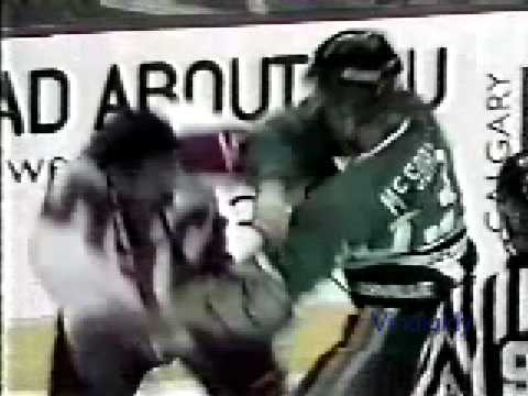 Sandy McCarthy vs. Marty McSorley