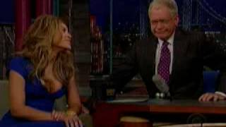 Gambar cover Beyonce on Letterman (1 of 3) 4/22/09