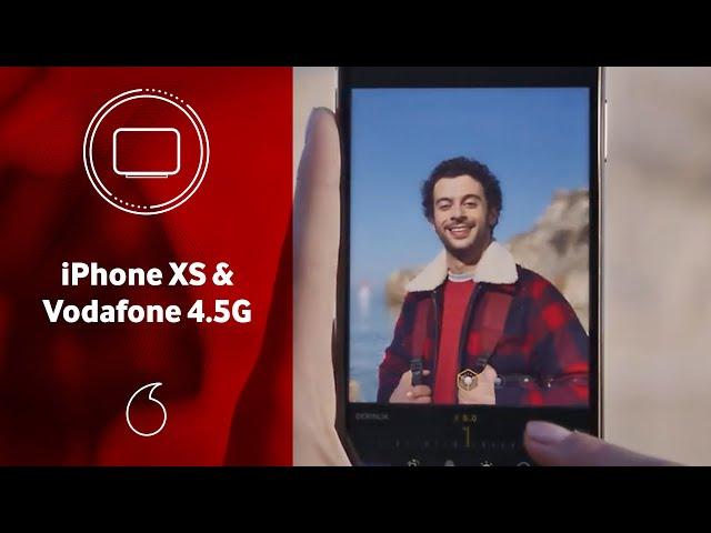 Eşsiz iPhone XS, Vodafone'un en geniş 4.5G kapsaması ile.
