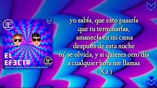 Rauw Alejandro X Chencho Corleone - El Efecto (LETRA/LYRICS)