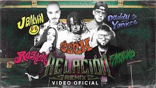 Sech & Daddy Yankee & J Balvin & Rosalía & Farruko - Relación Remix