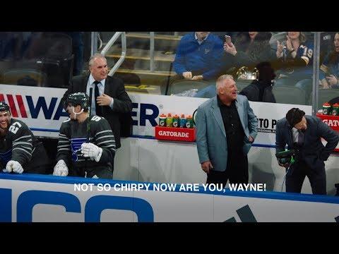 Blues legend Brett Hull mic'd up during 2020 Honda NHL All-Star Game