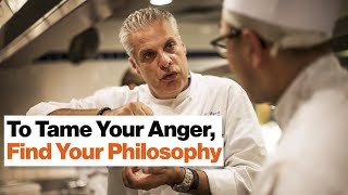 "Read more at BigThink.com: http://bigthink.com/videos/how-buddhism-helped-eric-ripert-tame-his-angerFollow Big Think here:YouTube: http://goo.gl/CPTsV5Facebook: https://www.facebook.com/BigThinkdotcomTwitter: https://twitter.com/bigthinkSo, probably the last place that you think about hope and optimism existing is in prison, but in the last ten years of working there I've come to realize that all humans possess these things—they just need a little coaxing sometimes.In June 2006 The Actors' Gang Theater Company started an experiment: we decided to take the Sunday night workshop we do with our whole company into prison to work with non-actors, to see what kind of effect our style of theater would have on them.So the style of theater we work in is a really bastardized version of the Italian tradition of Commedia Dell'Arte. It's masks, white-face, high emotional, physical work, so we call it the ""style.""We took that workshop program into prison and were absolutely astounded by the effect it had on these non-actors and how it started to help them be able to heal their trauma. We've seen this approach transform prison yards, we've seen it break down barriers of race and separation, and that has happened through the courage of these people, picking up the tools that we've offered them and using those tools to transform their emotional lives, and they found a safe space in our work to be able to do that.And as a result we have a ten percent recidivism rate and an 89 percent drop in in-prison infractions because these people now know how to deal with their emotions. So amazingly, this little engine that could, after ten years is now in ten prisons across California, and for me the thing that makes me so proud is that any day of the week there will be a student-led program happening in a prison. Like right now, there's a program happening in the prison that's led by our students, and we go and check in and support them every six weeks.Apart from the reentry programs that we have, which is now run by one of our former students—we employed him the day he paroled, to run that reentry program—we are also creating a program for correctional officers, who are often as traumatized as the people that they are overseeing. It's the highest suicide rate of any job.The real secret of this work, for those of us who are lucky enough to do it, is that we get as much, if not more, from the experience. One of our juvie girls told me the other day, when people come and work with us she always thinks to herself, ""Take off your cape,"" and this has become out motto now. Take off your cape, because we're not in the business of saving people. We're going in and offering them tools that we know work and as a result changing our own lives.I've definitely become a better person and a better actor, and these people have literally changed my life. So I'm really honored to introduce the stars of this work: the people. I mean it was an idea, right? I had an idea ten years ago; a lot of people have ideas. It doesn't really mean anything unless people make it happen, and these are the people that made that happen. So I'd like to start off by introducing Chris Bingley.Chris Bingley: Hello. Good afternoon everyone. I'm Chris Bingley. As Sabra said I returned to the community last Friday from a 12-year prison sentence. Most of my time—honestly there's not a whole lot of programs inside of California prisons—so I just kind of sat around and kind of read books and tried to better myself on my own.But towards the end of my sentence—I think I've been doing The Actors' Gang for about five years—the Prison Project came in and it gave me a lot of tools. It gave me a lot of tools to deal with prison, to deal with myself, and now that I'm out here it's given me a lot of tools that I'm using out here as well."