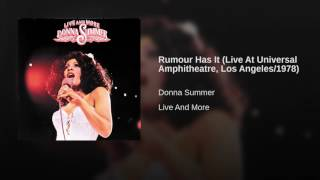 Rumour Has It (Live At Universal Amphitheatre, Los Angeles/1978)
