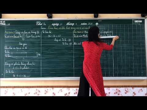 Bài giảng: Tìm hai số khi biết tổng và tỉ số