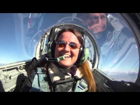 Flying an L39 jet fighter trainer