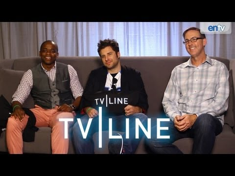 Psych - Cast Interview from Comic-Con [VIDEO]