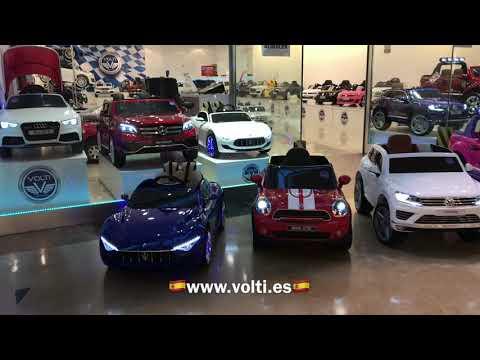 Juguetería coches eléctricos para niños  VOLTI www.volti.es