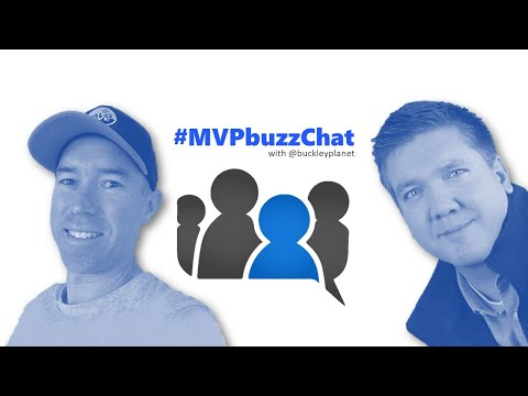 #MVPbuzzChat with Daniel Anderson