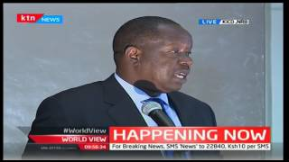 CS Fred Matiang'i launches the new curriculum pilot at KICD
