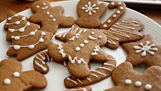 Christmas Gingerbread Men Cookies | Sweetco0kiepie