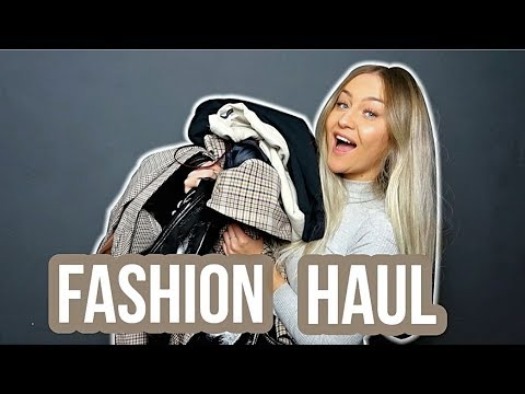 XXL TRY ON FASHION HAUL Herbst 2018