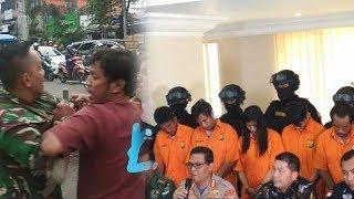 Pihak Kepolisian Gelar Rekonstruksi Kasus Pengeroyokan 2 Anggota TNI di Ciracas