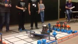 February 25, 2017 Tournament at Fall River Elementary – Qualifying Match with Bill Reed Middle School's Team 43C (2nd view)