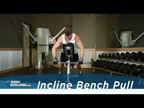 Incline Bench Pull  Exercise Videos & Guides  Bodybuilding com